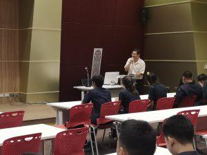 ปัจฉิมนิเทศให้แก่นักศึกษา สาขาวิชาเทคโนโลยีอุตสาหกรรม